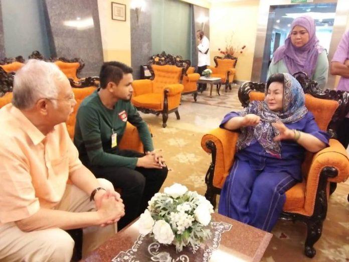 'Khalifah Putra' tampil mohon maaf kepada Najib, Rosmah